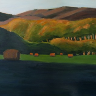 Evening (Bales) (Sold)