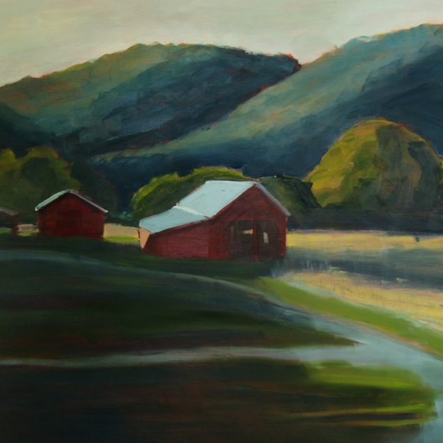 Evening (Barns) (Sold)