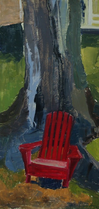Little Red Chair (Sold)