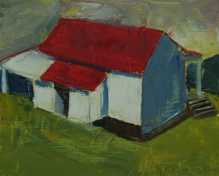 Little Red-Roofed House (Sold)