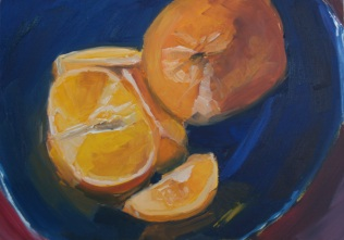 Two Tangerines (Sold)