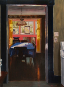 Sunday Afternoon, oil on panel, 30x36, 2015 (Sold)
