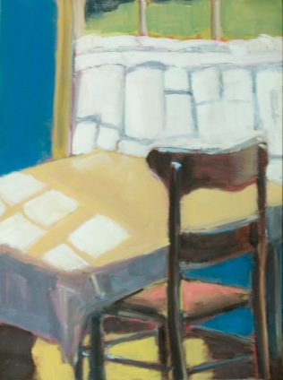 Sun on Tablecloth (sold)