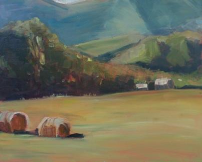 Morning Bales (Sold)