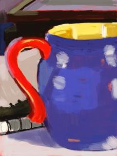 Mug with Stack of Frames