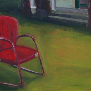 Red Chair Lawn (Sold)