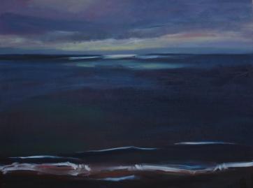 Light Breaks, oil on canvas, 30x40